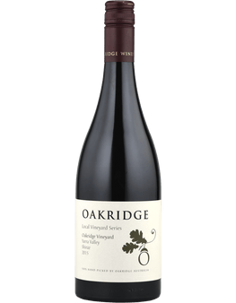 2015 Oakridge Local Vineyard Series Shiraz