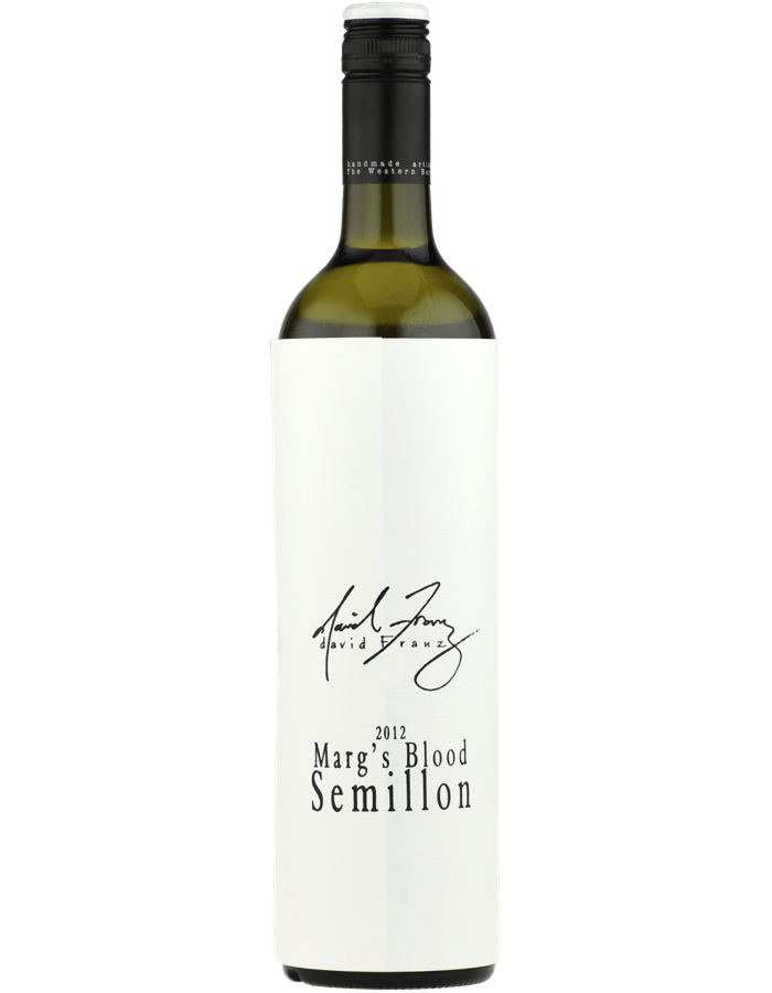 2012 David Franz Marg's Blood Semillon