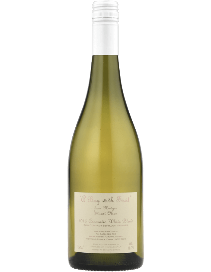 2016 A Boy with Fruit Aromatic White Blend