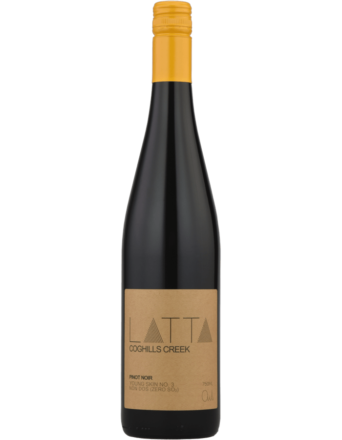 2016 Latta Coghills Creek Pinot Noir Zero SO2