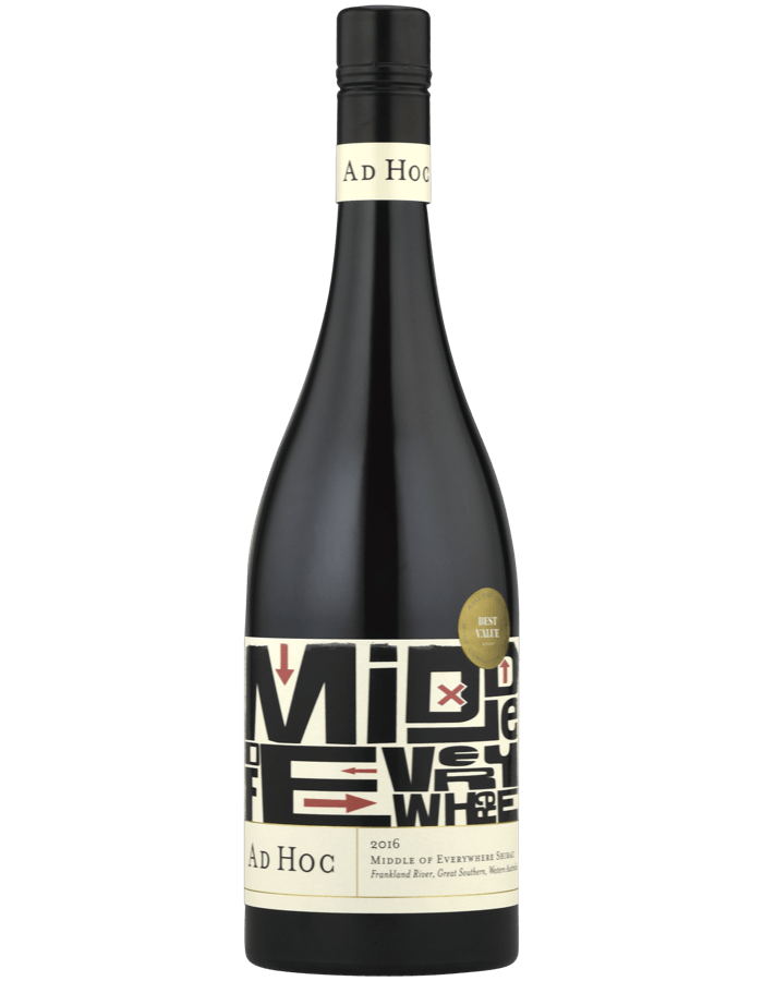2016 Ad Hoc 'Middle of Everywhere' Shiraz
