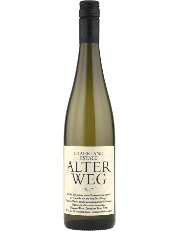 2017 Frankland Estate Alter Weg Riesling