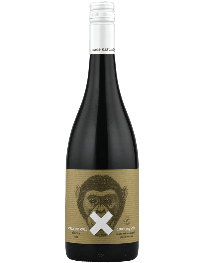 2016 Speak No Evil Organic Shiraz