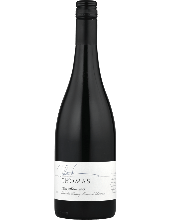 2015 Thomas Wines Kiss Shiraz