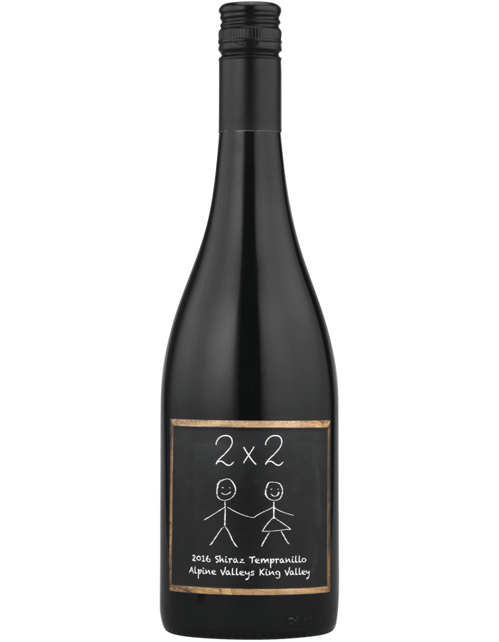 2016 2 by 2 Shiraz Tempranillo