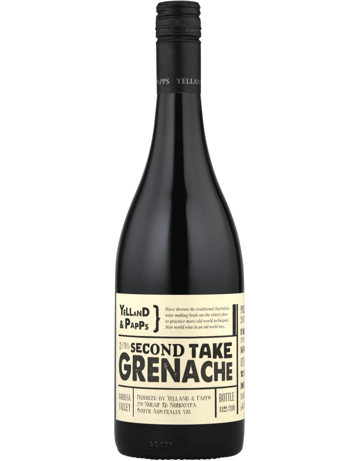 2016 Yelland & Papps Second Take Grenache