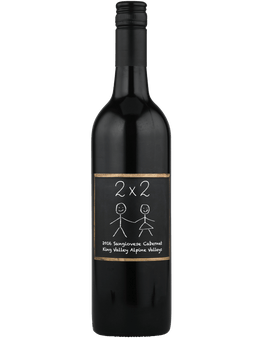 2016 2 By 2 Sangiovese Cabernet