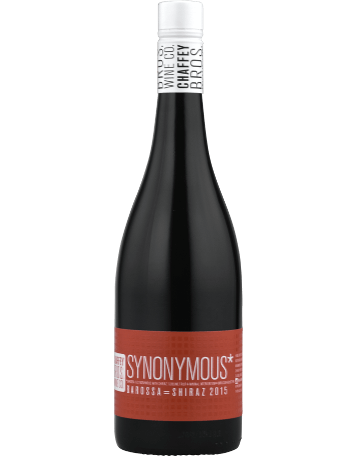 2015 Chaffey Bros Synonymous Shiraz