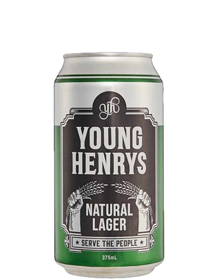 Young Henrys Natural Lager Cans Carton