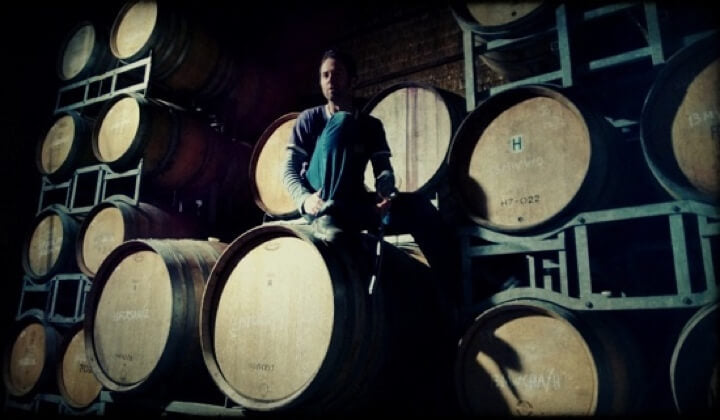 Winemaker Adrian Rodda