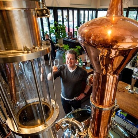 Animus Chief Distiller, Luke Jacques