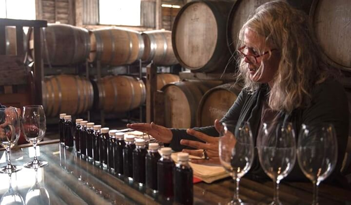 Winemaker Sue Bell