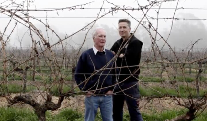 Owner Viv Thomson & Winemaker Justin Purser