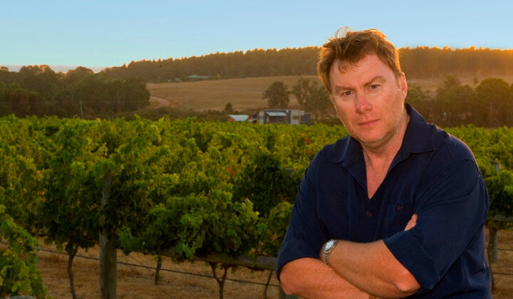 Blue Poles owner Mark Gifford - making seriously good wines