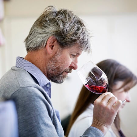 Winemaker PJ Charteris
