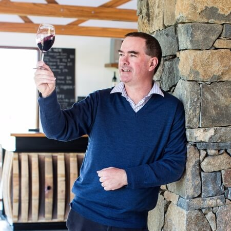 Owner/winemaker Tim Kirk