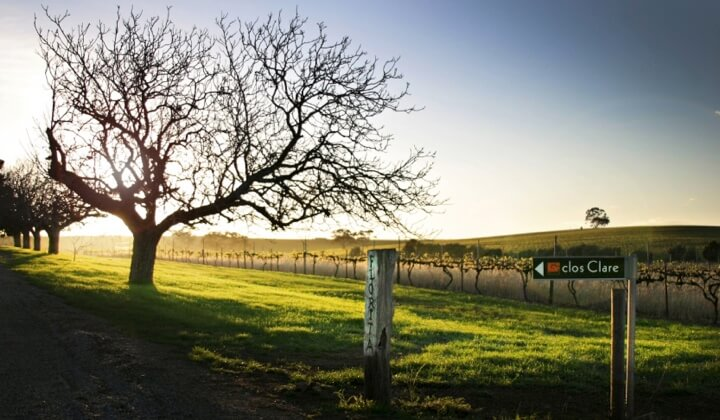 The breathtaking view at clos Clare