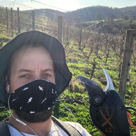 Oscar pruning in the vineyard