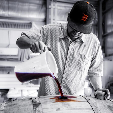 Winemaker Wes Pearson