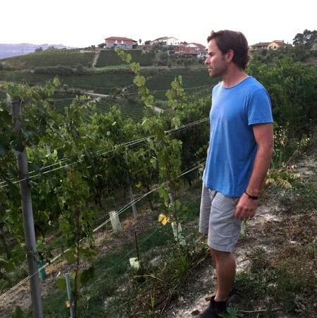 Dave in the vineyard