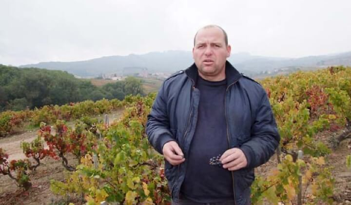Winemaker Georges Descombes
