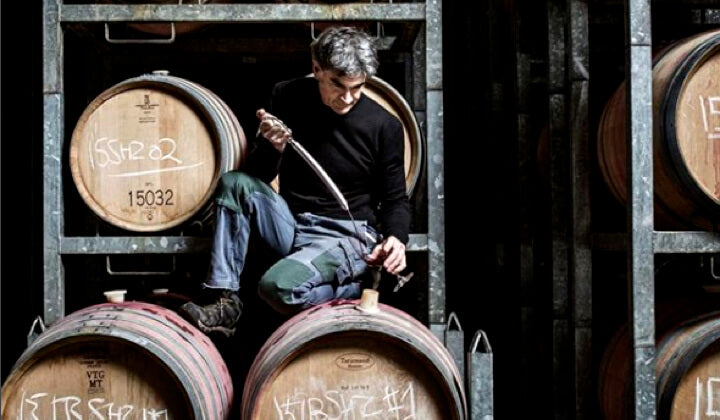 Winemaker Steve Flamsteed