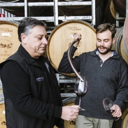 Winemakers James Cooter & Walter Clappis