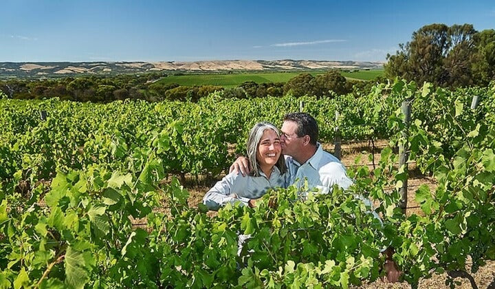 Love in the vines with Dudley and Irina