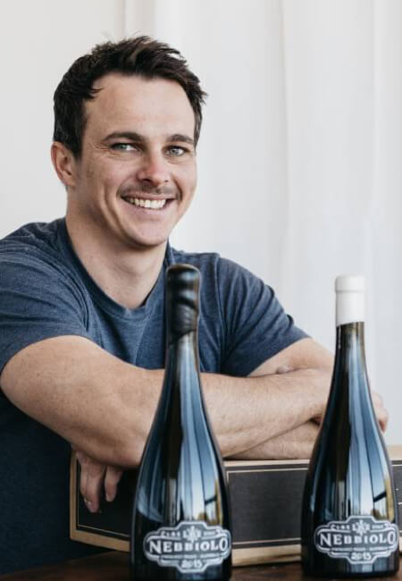 L.A.S. Vino owner/winemaker, Nic Peterkin