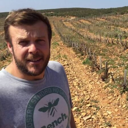 Young winemaker Cedric Gravier