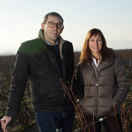 Owners Pierre and Sophie Larmandier