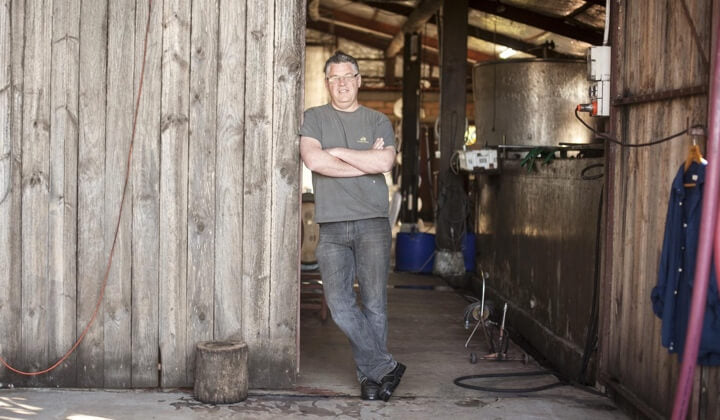 Winemaker Mark Warren