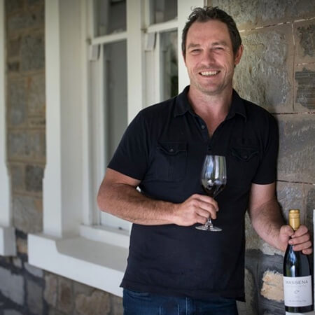 Winemaker Jaysen Collins