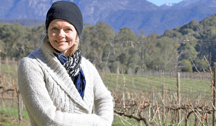 Mayford owner/winemaker Eleana Anderson