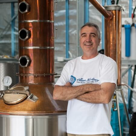 Distiller Bill McHenry