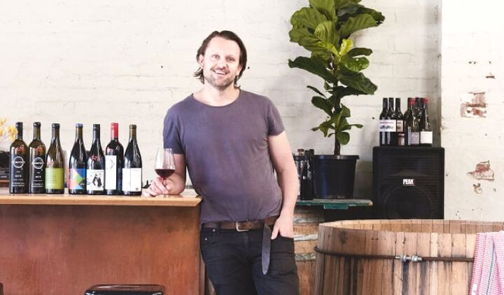 Winemaker Tim Sproal