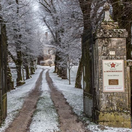 The Gates to Domaine de Montbourgeau