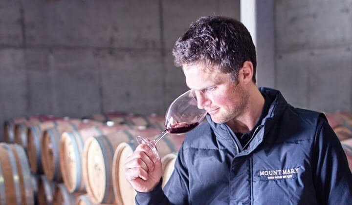 Mount Mary winemaker Sam Middleton