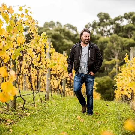 Owner/winemaker Sam Coverdale