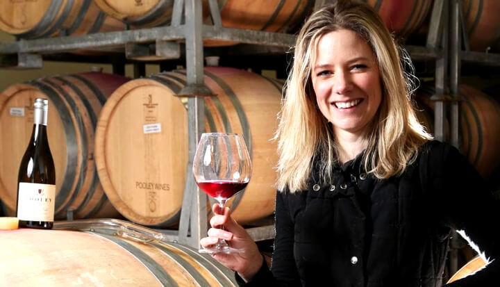Third generation winemaker, Anna Pooley