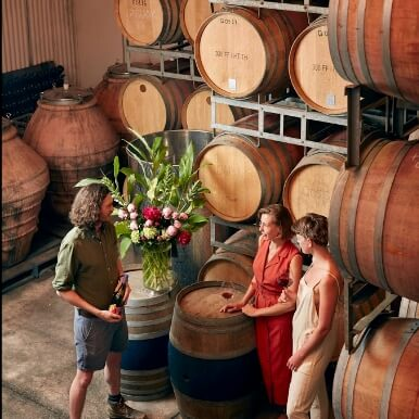 The Quealy barrel room