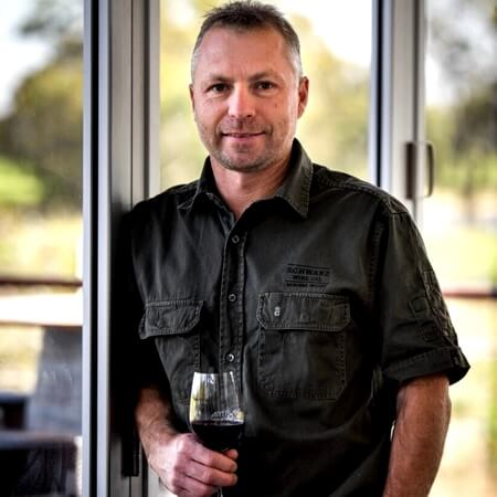 Winemaker Jason Schwarz