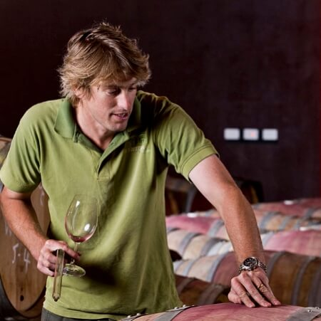 Winemaker Alister Timms