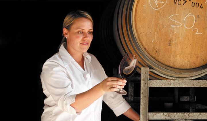 Winemaker Liz Silkman