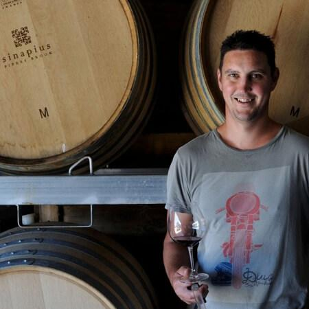 Winemaker Vaughn Dell