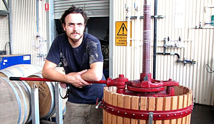 Winemaker Remi Guise