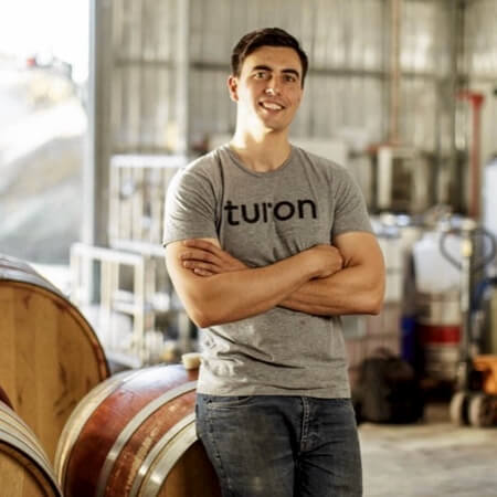 Turon in his winery