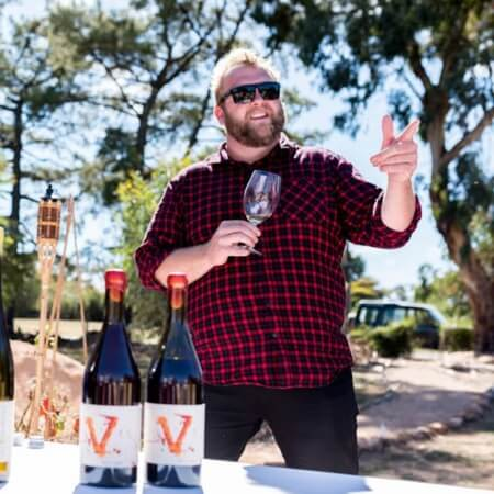 Winemaker Michael Corbett