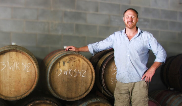 Winemaker Dan Balzer