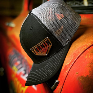 Turnin Rust Steel Logo Hat